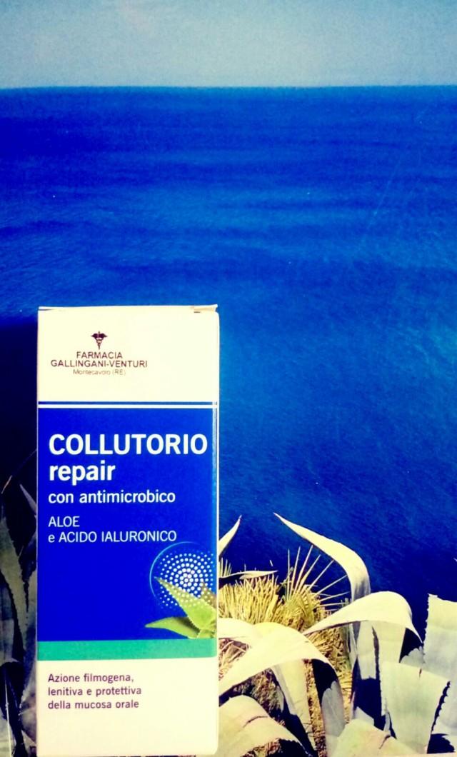 COLLUTORIO REPAIR CON ACIDO IALURONICO E ALOE